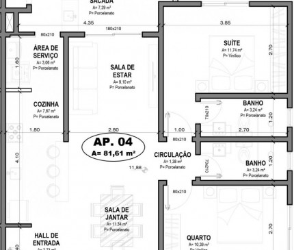 Apartamento Tipo 04