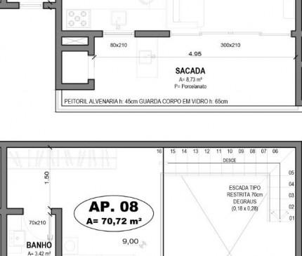 Apartamento Loft Tipo 08