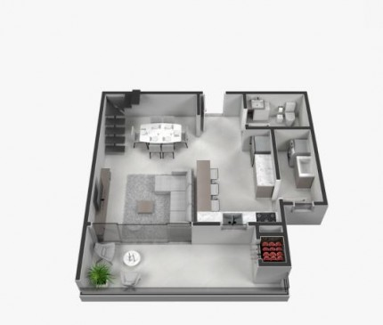 Apartamento Loft Tipo 07